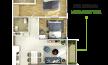 Cần bán chung cư 2 phòng ngủ M - One, DT 70m2, giá 2,4 tỷ, đã bao gồm VAT & PBT, LH: 0934235316