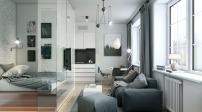 Ngắm thiết kế tinh tế của 2 căn hộ diện tích 35m2