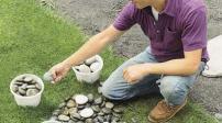 Khéo tay làm đẹp lối đi sân vườn theo phong cách mosaic