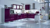 Những căn bếp màu tím đẹp ấn tượng