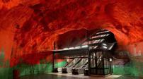 Ngắm ga tàu điện ngầm vô cùng độc đáo tại Stockholm