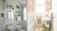 Những cách khiến phòng tắm nhỏ trở nên nổi bật