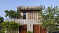 Nhà mái lá tuyệt đẹp của cặp vợ chồng kiến trúc sư