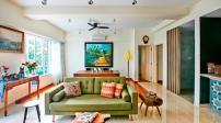 Thiết kế nội thất nhiều màu sắc cho căn hộ ấm áp