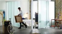 Cửa trượt: Giải pháp lí tưởng cho nhà chật