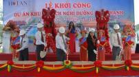 Chính thức khởi công dự án khu du lịch nghỉ dưỡng Tam Thanh