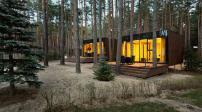 Thiết kế nhà khách tuyệt đẹp giữa rừng thông