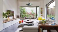 Phân chia không gian trong nhà giúp nội khí luôn bình ổn