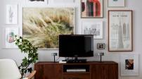 Bí quyết bày TV cho nhà nhỏ mà không gây chật chội