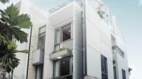 Ngôi nhà thoáng đẹp xây trên nền đất yếu tại Tp. HCM