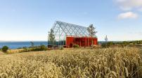 Ngôi nhà độc đáo lấy cảm hứng từ kiến trúc truyền thống Thụy Điển