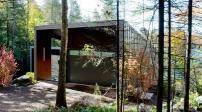 Ngôi nhà với thiết kế độc đáo bên sườn núi ở Canada