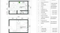 Tư vấn bố trí nội thất căn nhà 17,5m2 cho gia đình 3 người