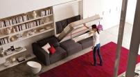 Những kiểu giường gấp siêu tiện lợi cho nhà nhỏ