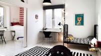Nội thất soọc đen trắng tinh tế cho nhà thêm ấn tượng