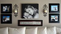 12 mẹo treo nhiều ảnh gia đình trong nhà