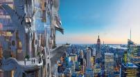 Tòa nhà điêu khắc chọc trời tại Manhattan