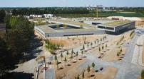 Trường học tại Pháp với thiết kế thân thiện với môi trường