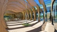 Trường mẫu giáo được xây dựng từ vật liệu tái chế và tự nhiên tại Italia