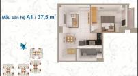 Tư vấn cải tạo căn hộ 37,5m2 cho gia đình 4 người