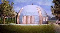 Thiết kế nhà mái vòm mới lạ và tinh tế