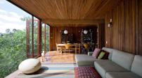 Nhà gỗ với thiết kế bền vững và thông minh ở São Paulo