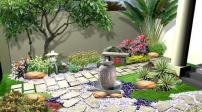 Thiết kế sân vườn cho biệt thự và nhà phố