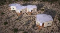 Hex House - nơi trú ẩn cho những vùng thiên tai