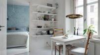 Căn hộ đẹp tựa ốc đảo tại Thụy Điển