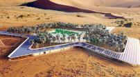 Choáng ngợp trước khu du lịch sinh thái xanh giữa sa mạc tại UAE