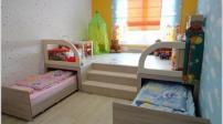 Thiết kế tận dụng tối ưu không gian phòng ngủ của trẻ