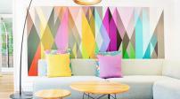 Giúp nhà thêm lạ mắt với những mảng tường màu sắc
