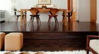 Bật mí cách phối đồ nội thất với sàn gỗ màu tối