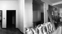 Biến tường thành tủ đồ, căn hộ 60m2 trở nên tiện lợi