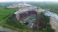 Trung Quốc: Ngắm khách sạn nửa tỷ USD dưới hố sâu 100m