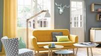 Tô điểm cho nhà thêm tươi sáng với màu vàng ghi