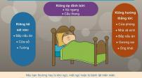 Những điều kiêng kỵ đầu giường để có sức khỏe tốt