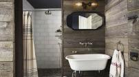 Thiết kế phòng tắm như spa sang trọng