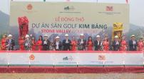 Hà Nam: Khởi công dự án sân Golf Kim Bảng 1.000 tỷ đồng