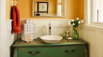 Một số cách biến tấu cho phòng tắm thêm độc đáo