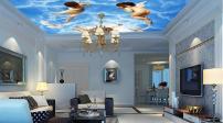 Chiêm ngưỡng mẫu thiết kế trần nhà độc đáo