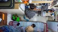 Khủng hoảng nhà ở, người dân Hong Kong sống trong