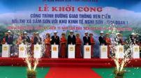 Khởi công dự án xây dựng đường giao thông huyết mạch ven biển tại Thanh Hóa