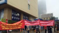 Người dân phản đối xây bể phốt trong tầng hầm chung cư Hồ Gươm Plaza