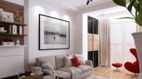 Thiết kế căn hộ 30m2 với nội thất và không gian độc đáo