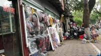 Dãy phố có các cửa hàng siêu mỏng, siêu nhỏ tại Hà Nội
