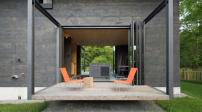 Ngôi nhà gỗ có thiết kế linh hoạt, tiện nghi