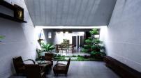 Căn nhà được thiết kế từ ý tưởng từ hang Sơn Đoòng