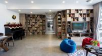 Độc đáo bức tường sách khổng lồ trong căn nhà Sài Gòn