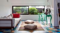 Độc đáo thiết kế căn nhà tường gạch mái lá đẹp lại giữa Sài Gòn